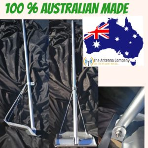 TILE ROOF mount for tv Antenna  GALVANISED HEAVY DUTY  WITH POLE  OZZY MADE