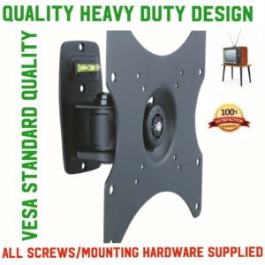 TV Bracket Wall Mount 23 42 int Tilt And Swivel TB01 20kgs led lcd engineered