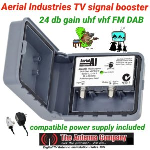 bososter for FTA tv fm dab uhf and vhf