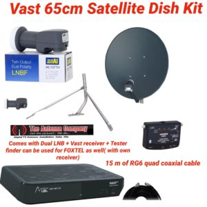 vast satellite kit viewer access television