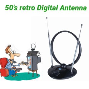 retro digital tv antenna