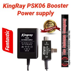 psk06 power supply for tv antenna
