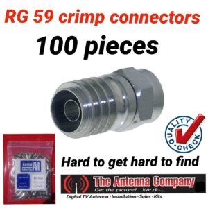 rg 59 crimp nickle