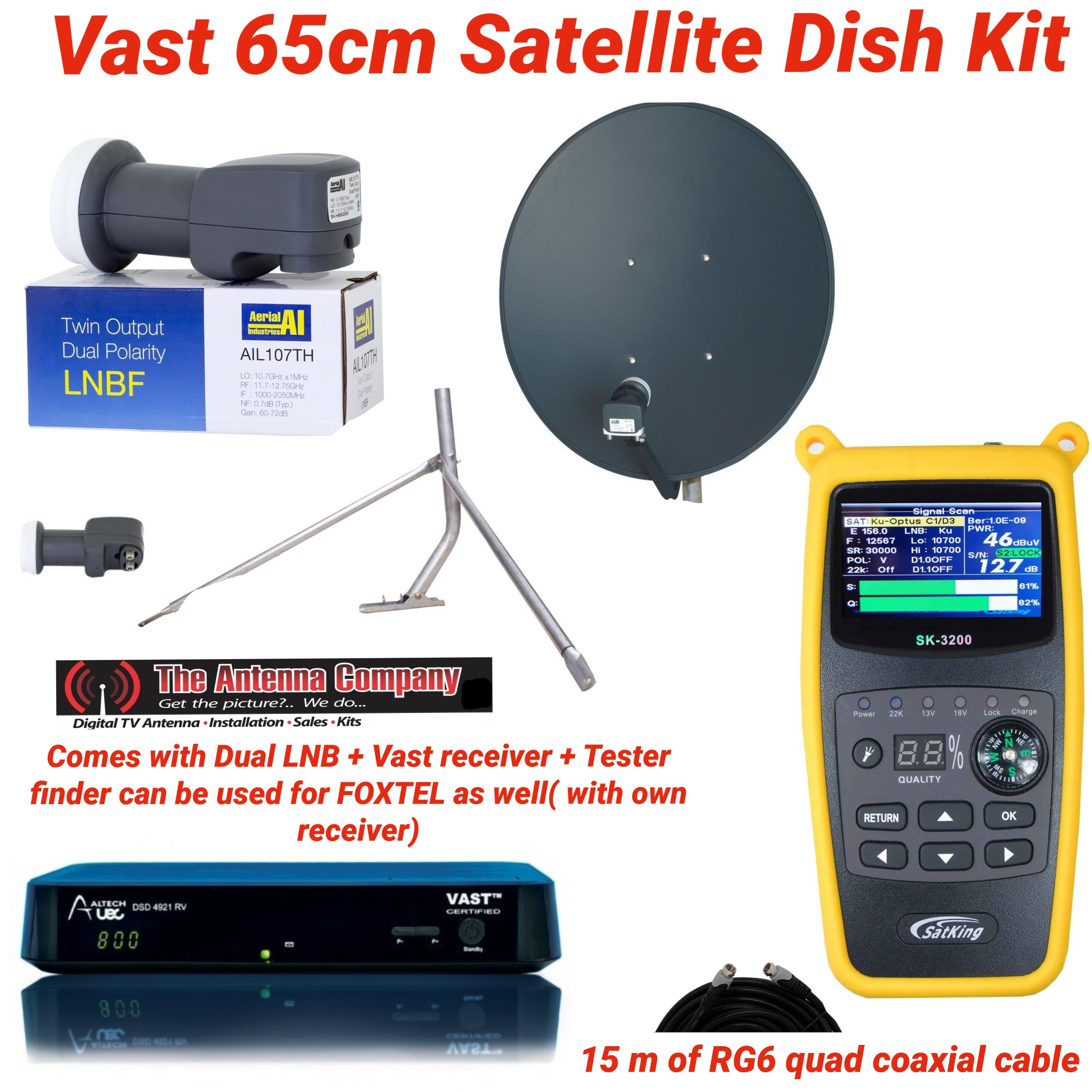 vast satellite
