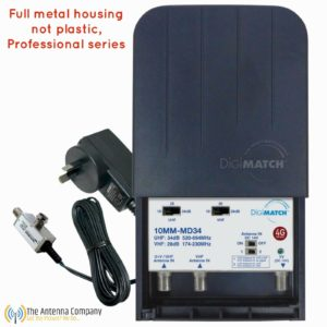 10mm-md34p tv signal booster